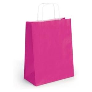 sac papier kraft framboise-0