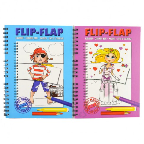 album-coloriage-flip-flap